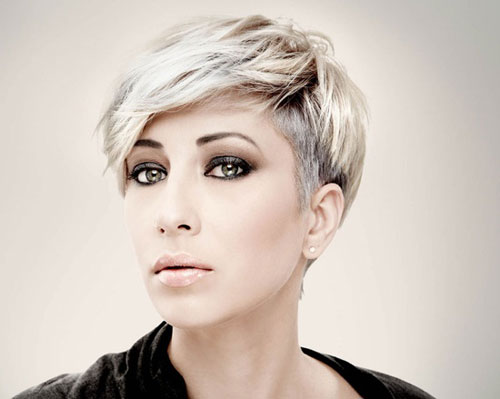 Cute Short Hair Color Trends for 2013 Short-Pixie-with-Light-Golden-Color