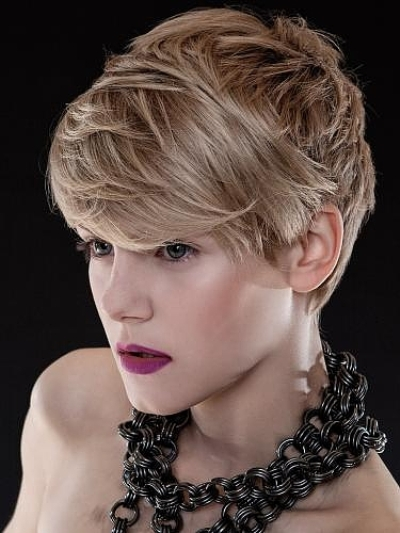 Super Short Messy Hairstyles for Women