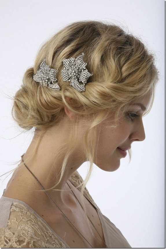 Cute Short Hairstyles for Bridesmaids Vintage-Bridesmaids-Hairstyles-for-Short-Hair