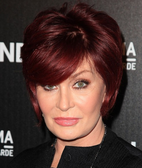 2013 Short Hairstyles With Bangs For Older Women