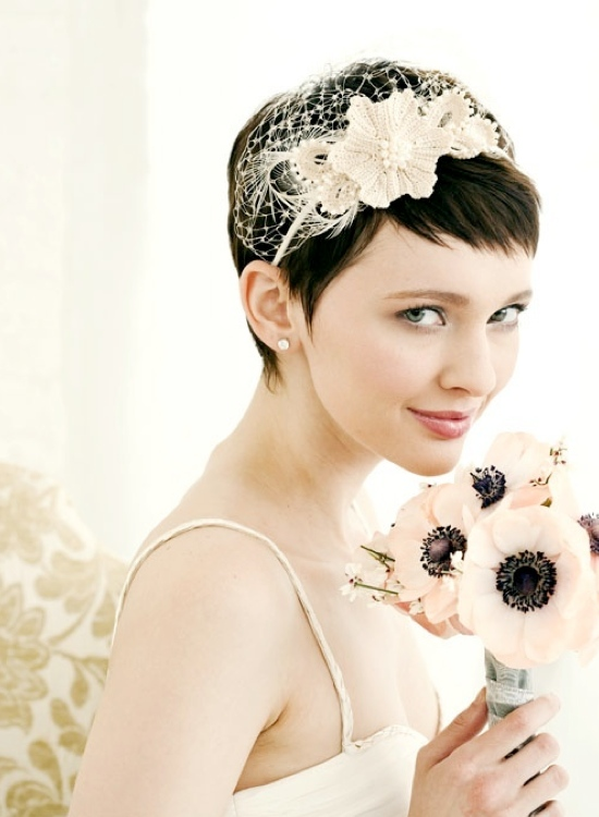 Beautiful Short Wedding Hairstyles 2015 Beautiful-Short-Wedding-Hairstyles-2013
