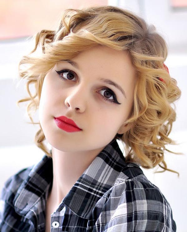 Casual Hairstyles for Short Hair Casual-Hairstyles-for-Short-Curly-Hair