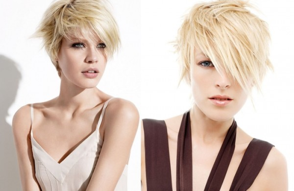 Cute Short Blonde Haircuts for Beautiful Women
