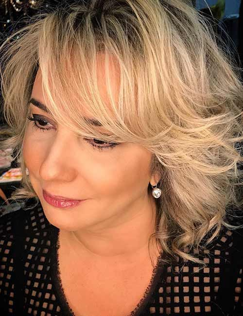 10 Cute Short Blonde Haircuts for Older Women (Updated 2021) Rooted-ash-blonde