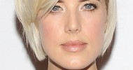Short Blonde Hairstyles For Long Faces