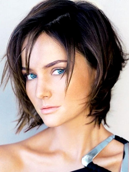Short Choppy Bob Hairstyles 2013