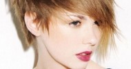Short Choppy Shag Hairstyles 2013