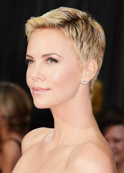 Short Pixie Hairstyles For Long Faces