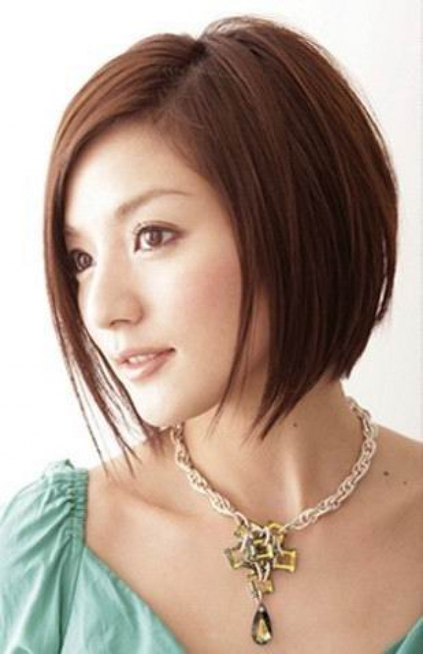 Short to Medium Asian Hairstyles for Women