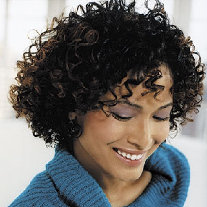 Trendy Short Curly Haircuts for Women African-American-Trendy-Short-Curly-Haircuts