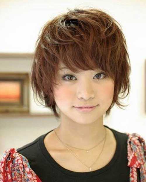 Short Length Hairstyles Ideas for Beautiful Women Asian-Short-Length-Hairstyles