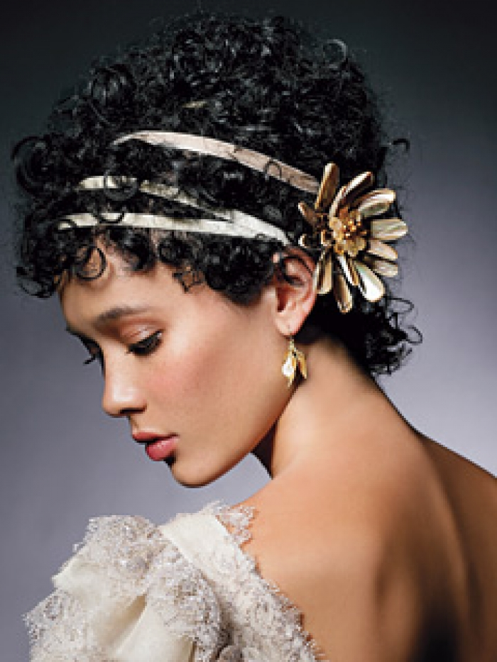 Beautiful Bridal Hairstyles for Short Hair Bridal-Hairstyles-For-Short-Curly-Hair