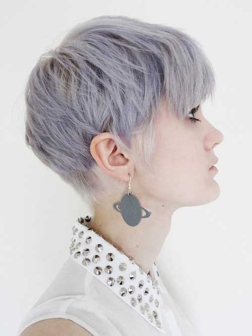 Best Hair Color Ideas for Short Hair 2013 Lilac-Color-Ideas-for-Short-Hair