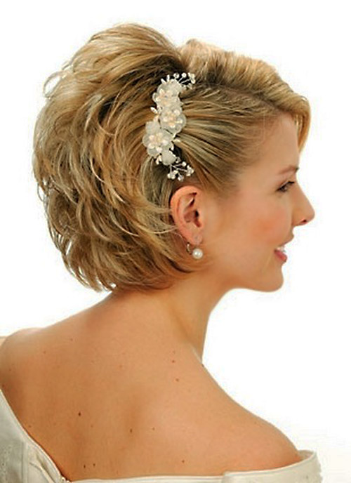 Beautiful Bridal Hairstyles for Short Hair Short-Bridal-Hairstyles-2013