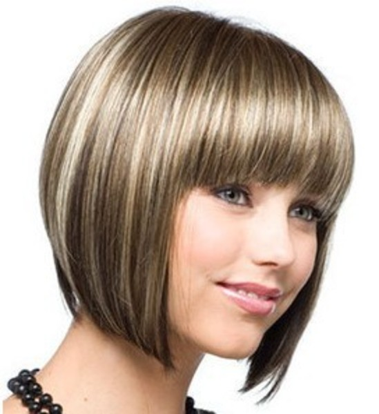 Short Length Hairstyles Ideas for Beautiful Women Short-Chin-Length-Bob-Haircuts