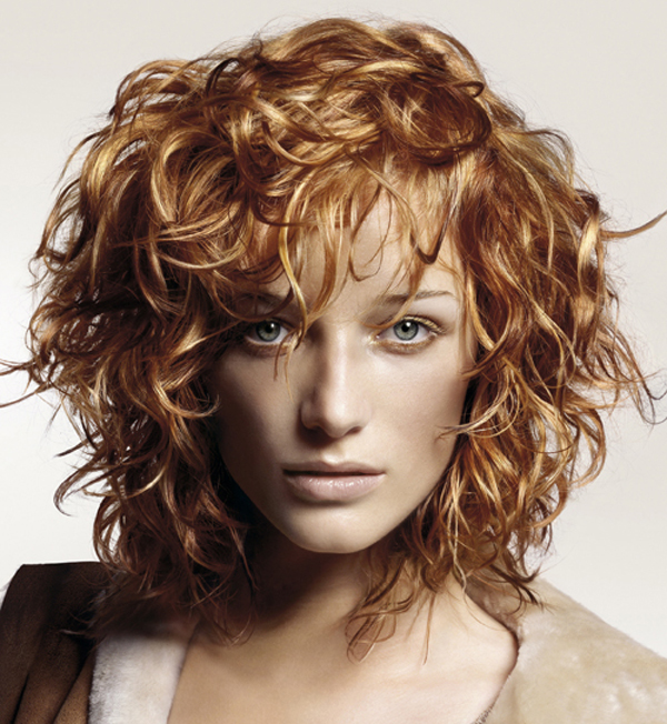 Trendy Short Curly Haircuts for Women Trendy-Short-Curly-Haircuts-With-Bangs