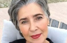72 Beautiful Short Hairstyles for Women Over 60 (Updated 2019) 2ce035352a6d4a273dfbe1729a36e681-235x150
