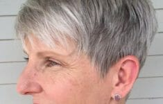72 Beautiful Short Hairstyles for Women Over 60 (Updated 2019) 414e17f2d1593425910654c0667d03ef-235x150