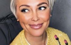 72 Beautiful Short Hairstyles for Women Over 60 (Updated 2019) cd9a8bd595d169b8b70a859b860e09c0-235x150