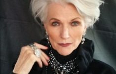 72 Beautiful Short Hairstyles for Women Over 60 (Updated 2019) dd8e1752a0ddcdfb523a9049be71b6c0-235x150
