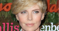 Charlize Theron Cropped Blonde Short Hairstyles