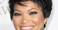 Cute Short Black Haircuts For Round Faces