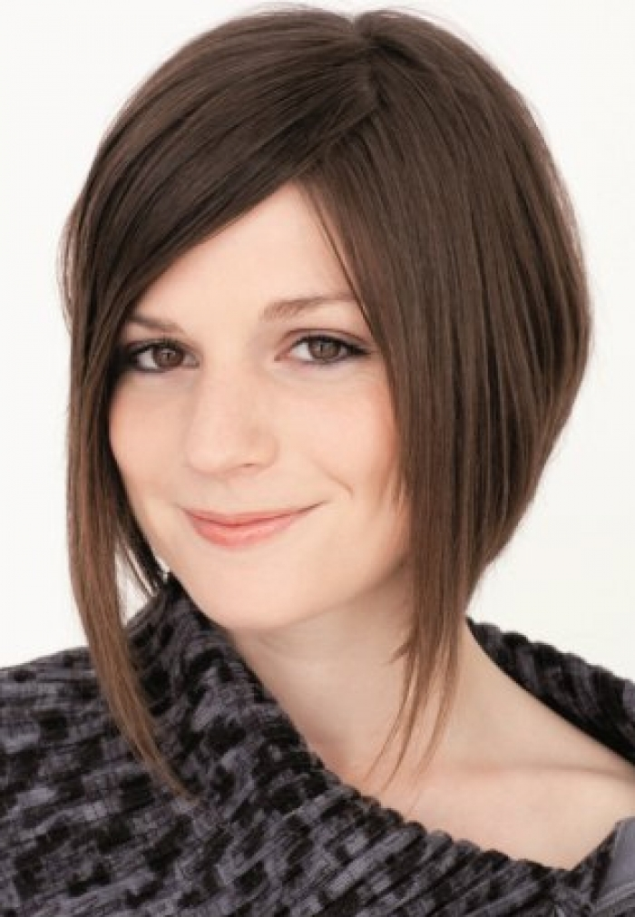 Inverted Bob Hairstyles for Fine Hair 2013