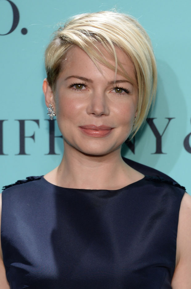 Michelle Williams Short Layered Razor Hairstyles