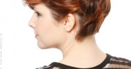 Short Curly Hairstyles Back View