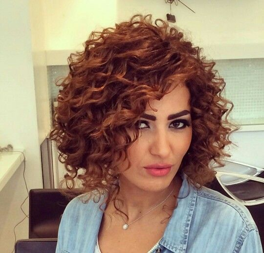Spiral perm hairstyles for women 5