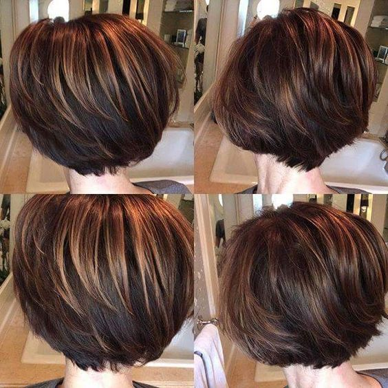 36 Beautiful Types of Short Stacked Bob Hairstyles (Updated 2018)
