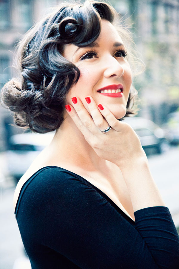 Best Vintage Hairstyles for Short Hair Beautiful-Vintage-Hairstyles-for-Short-Hair