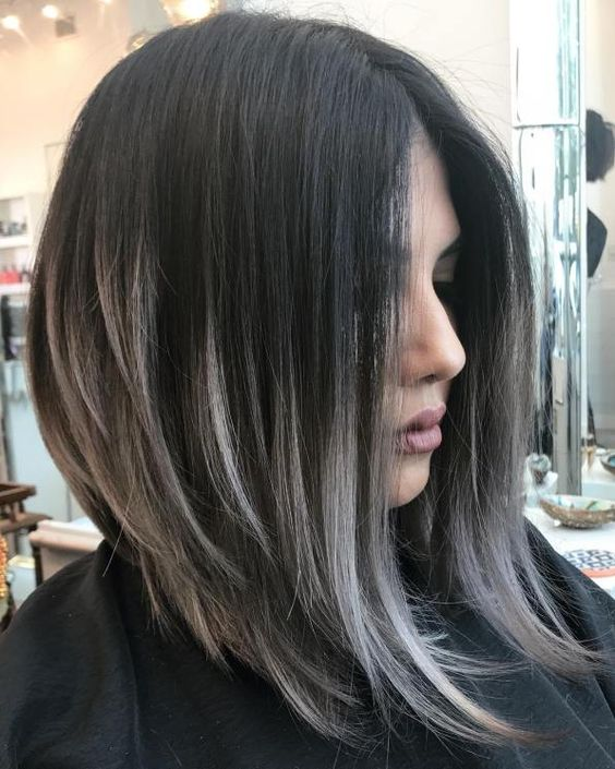 20 Stunning Short Angled Bob Hairstyles for Older Women (Updated 2021) Layered-angled-hairstyles