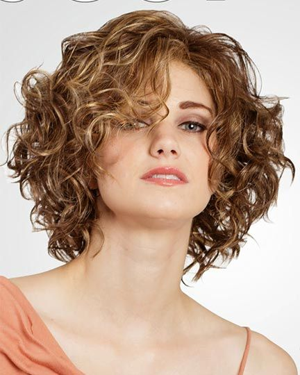 20 Stunning Short Angled Bob Hairstyles for Older Women (Updated 2021) Long-curly-angled-bob