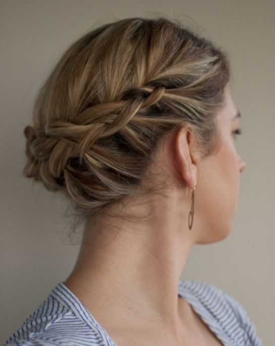 New Updo Hairstyles for Short Hair Updo-Hairstyles-For-Short-Hair-With-Braids