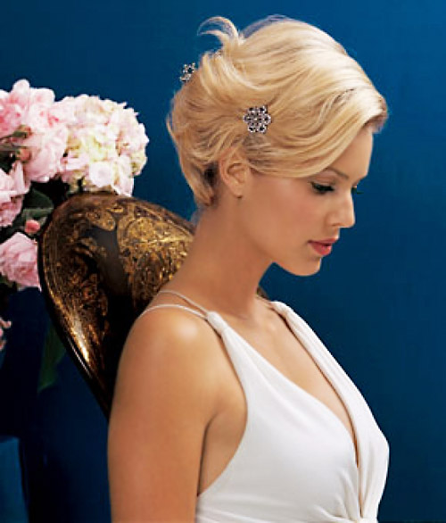 Best Vintage Hairstyles for Short Hair Vintage-Hairstyles-for-Short-Hair-Wedding