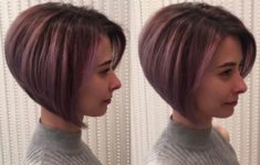 36 Beautiful Types of Short Stacked Bob Hairstyles (Updated 2018) a9bf689247112e5196eca52cf1149a7d-235x150