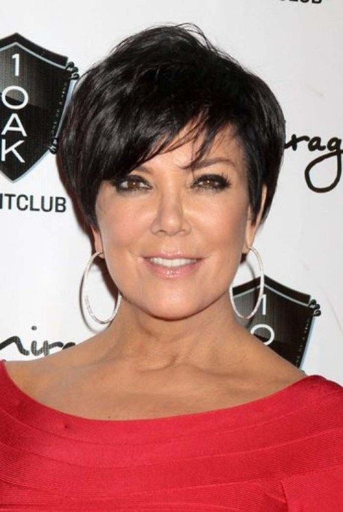 Beautiful and Cute Short Layered Haircuts for Women Over 50 8
