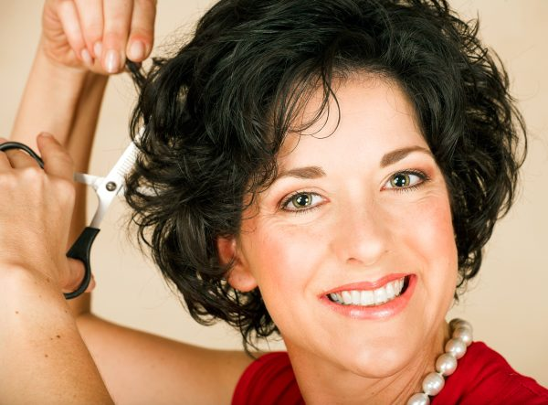 hairstyles for short curly hair for women over 50