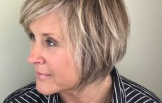 Cute Short Haircuts for Women Over 50 (Updated 2018) short-layered-haircuts-over-50-round-face-1-235x150