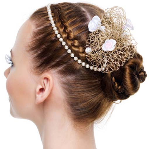 braided hairstyles for short hair wedding