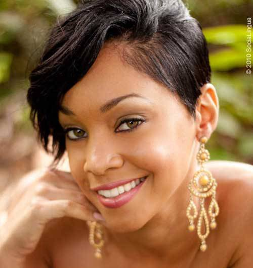 hairstyles for black women with short thin hair