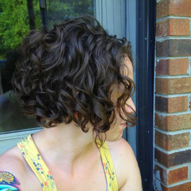 2014 Cute Short Curly Bob Hairstyles