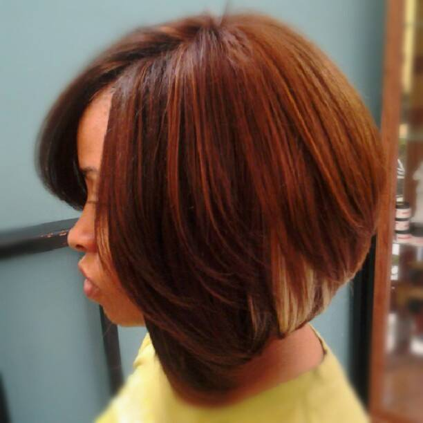 Beautiful Short Weave Hairstyles 2014 2014-Short-Weave-Bob-Hairstyles