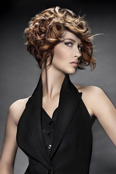Cute Short Curly Bob Hairstyles 2015