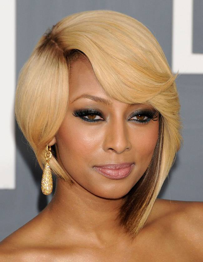 Beautiful Short Weave Hairstyles 2014 Keri-Hilson-Short-Weave-Hairstyles
