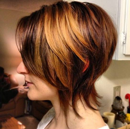 Ombre Hair Color For Short Bobs Hair