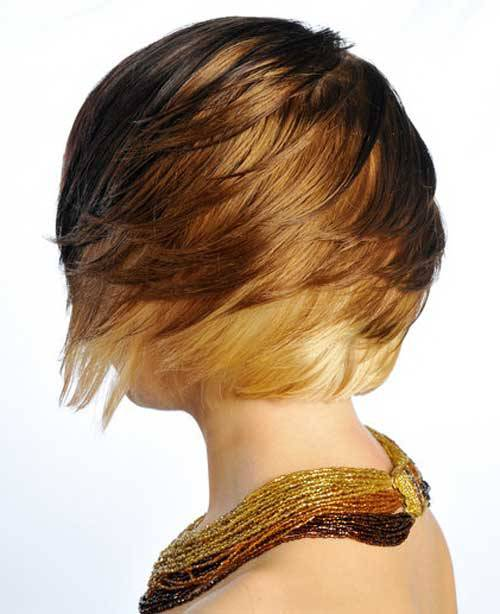 2015 Hair Color Trends for Short Hair Ombre-Hair-Color-for-Short-Hair