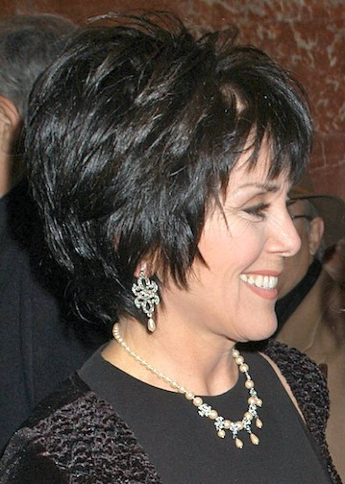 Short Hairstyles For Thick Hair Older Women
