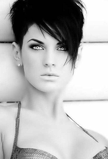 2014 Trendy Short Hairstyles Trendy-Short-Hairstyles-with-Long-Bangs